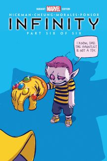 Infinity #6  (Young Variant)