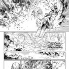 Avengers (2010) #31 preview inks by Brandon Peterson
