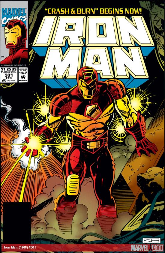 Iron Man (1968) #301 Cover