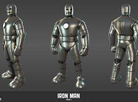 Iron Man Mark I Armor (comic version) from Marvel Heroes