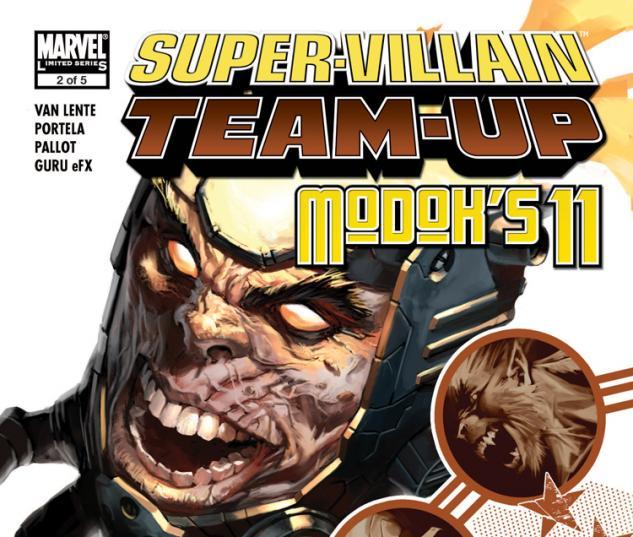 Super-Villain Team-Up/Modok's 11 (2007) #2