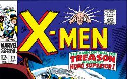 Uncanny X-Men (1963) #37 Cover