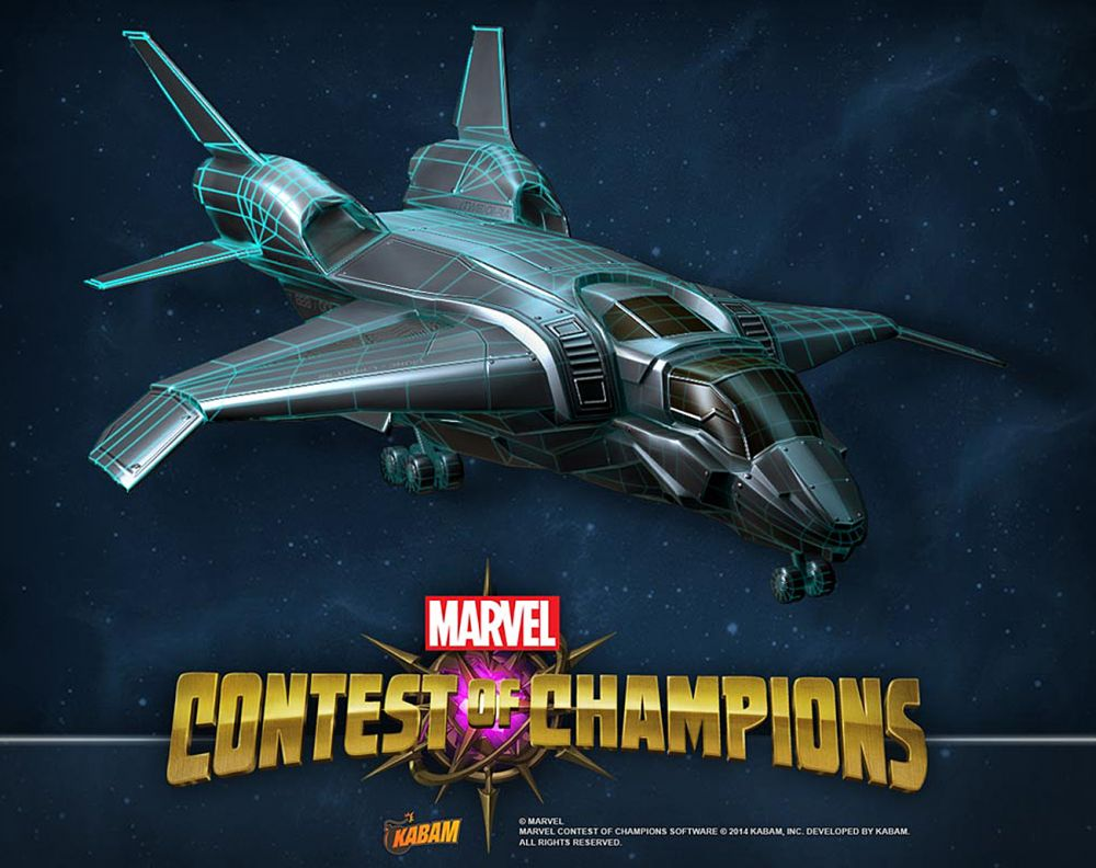 Entering Marvel Contest of Champions