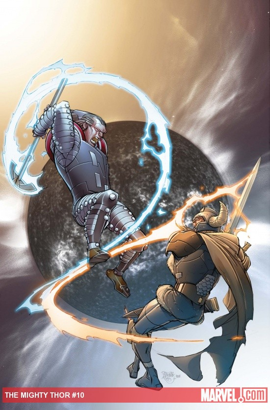 THE MIGHTY THOR 10 cover