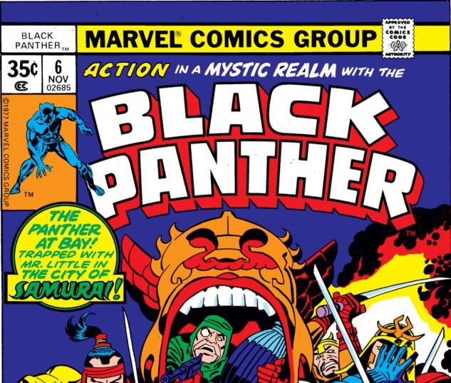 Black Panther (1976) #6 Cover