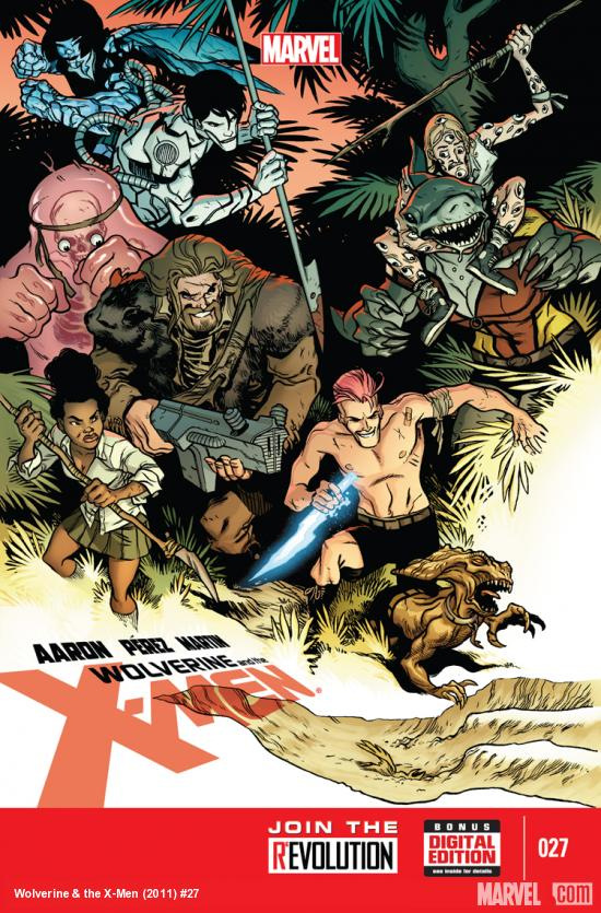 Wolverine & the X-Men #27 cover