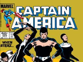 Captain America (1968) #295 Cover