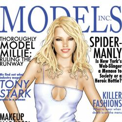 MODELS, INC. #1 cover by Scott Clark