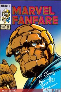 Marvel Fanfare (1982) #15
