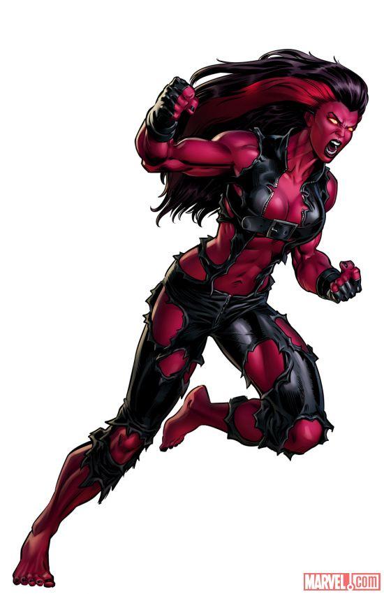 La Radiante Red She-Hulk llegó a Marvel Avengers Alliance ...
