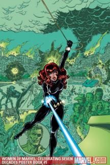 Women of Marvel: Celebrating Seven Decades Poster Book #1