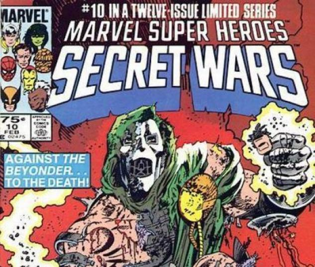 SECRET WARS #10