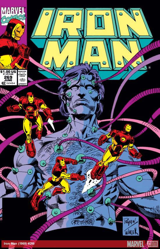 Iron Man (1968) #269 Cover