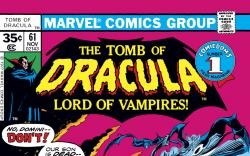 Tomb of Dracula (1972) #61 Cover