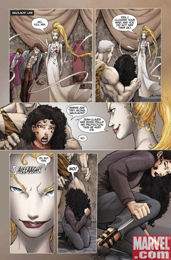 ANITA BLAKE, VAMPIRE HUNTER: GUILTY PLEASURES #10, page 2