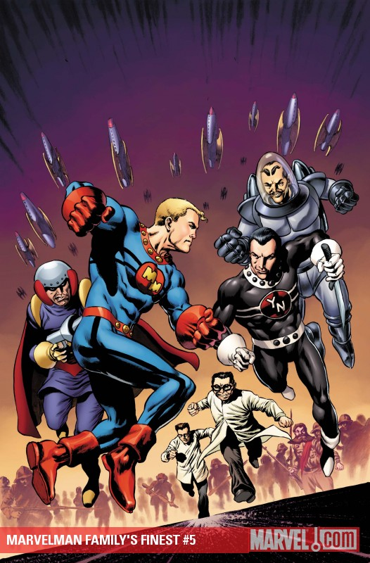 Marvelman Family's Finest (2010) #5