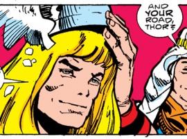 Frigga counsels Thor