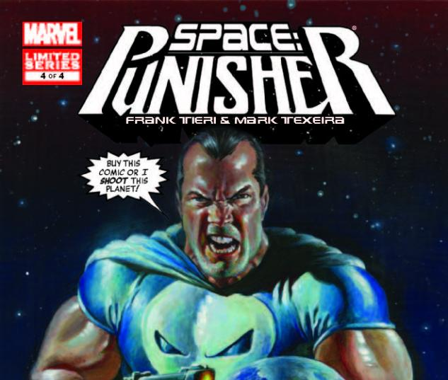 SPACE: PUNISHER 4 (WITH DIGITAL CODE)