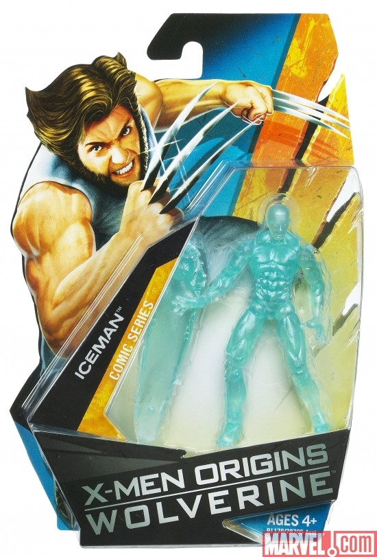 X-Men Origins: Wolverine Iceman action figure