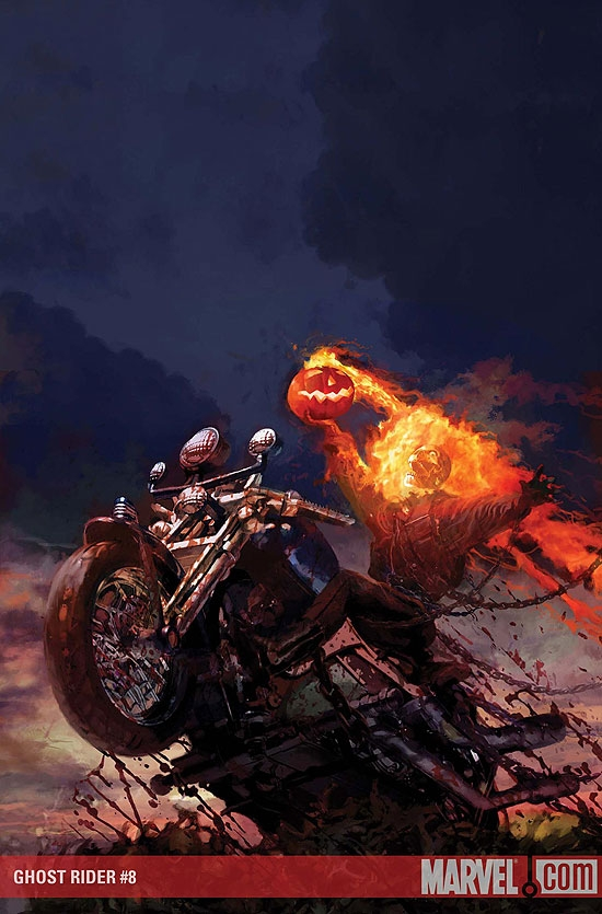 GHOST RIDER (2008) #8 COVER