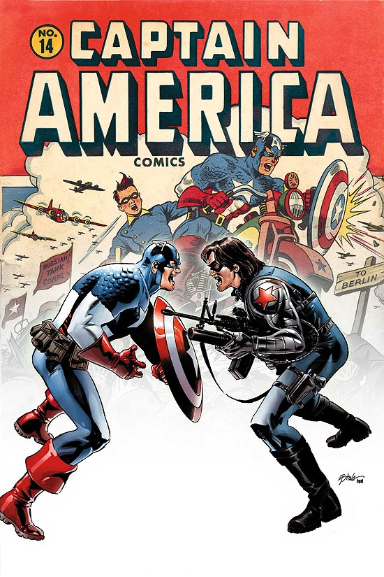 CAPTAIN AMERICA (2007) #14 COVER