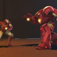 Iron Man faces his own Hulkbuster armor in Marvel's Iron Man & Hulk: Heroes United