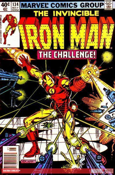 Iron Man #134 cover