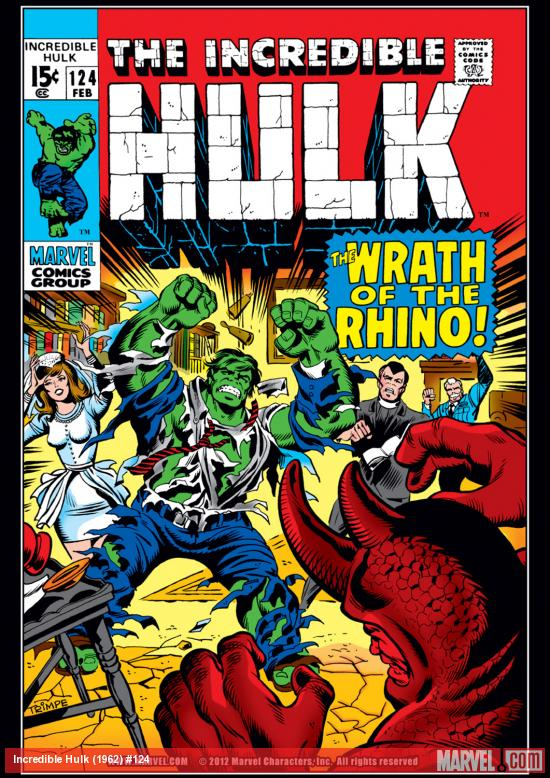 Incredible Hulk (1962) #124 Cover