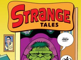 Peter Bagges cover to STRANGE TALES #2.