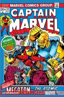 Captain Marvel (1968) #22