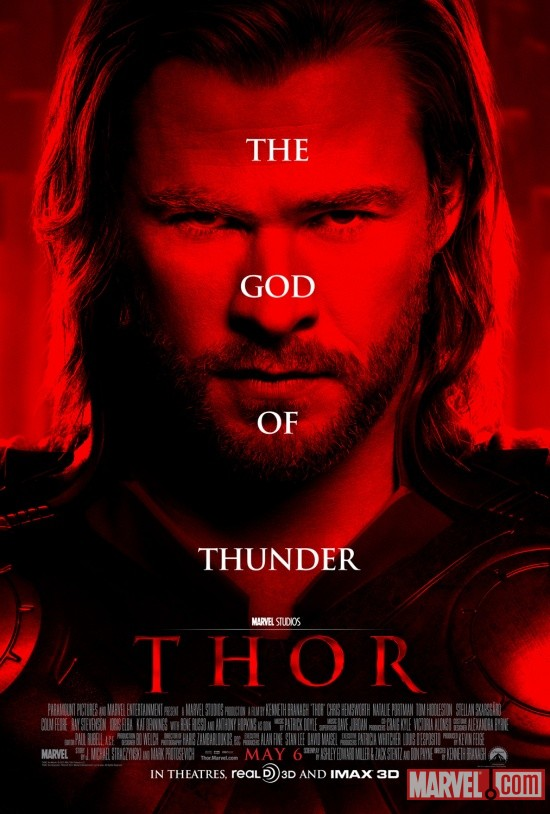 Thor one-sheet movie poster