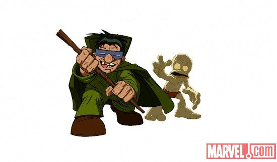 The Mole Man from The Super Hero Squad Show