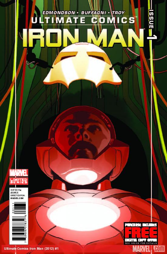 ULTIMATE COMICS IRON MAN 1 (WITH DIGITAL CODE)