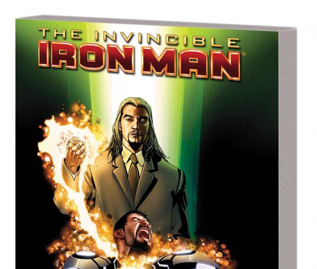 Invincible Iron Man Vol. 10 TPB Cover