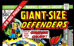 Giant-Size Defenders (1974) #5 Cover