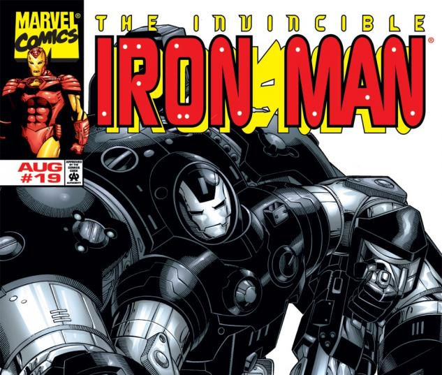 Iron Man (1998) #19 Cover