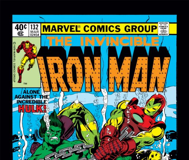 Iron Man (1968) #132 Cover