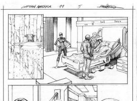 Captain America (2012) #11 preview pencils by Carlos Pacheco