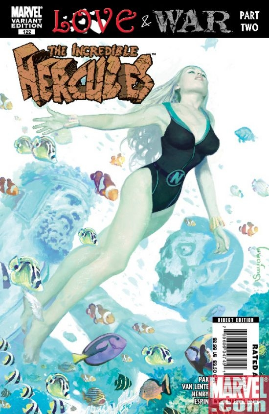 THE INCREDIBLE HERCULES #122 (Zombie variant)