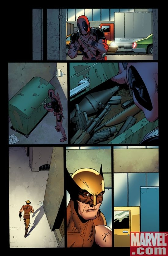 WOLVERINE: ORIGINS #23 preview art by Steve Dillon