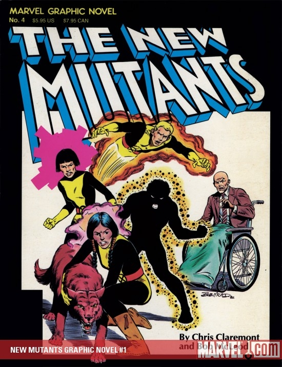 NEW MUTANTS GRAPHIC NOVEL (1982) #1
