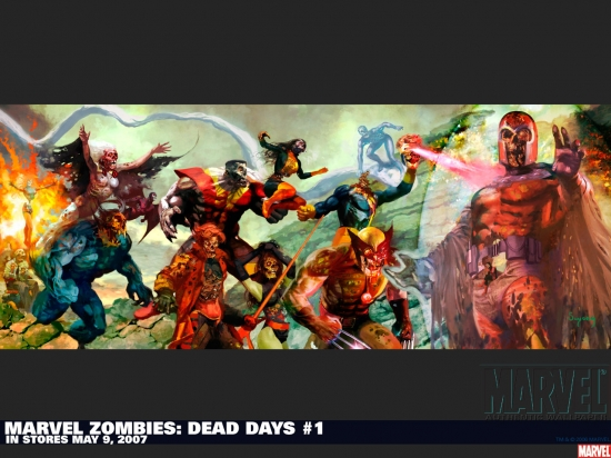 Marvel Zombies: Dead Days (2007) #1 Wallpaper