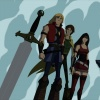 Screenshot of Thor, Loki and Sif from Thor: Tales of Asgard