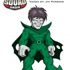 Nightmare, voiced by Jim Parsons, from The Super Hero Squad Show