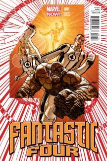 Fantastic Four (2012) #1 (Johnson Variant)