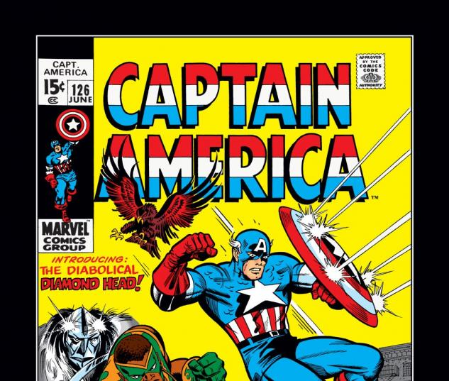 Captain America (1968) #126 Cover