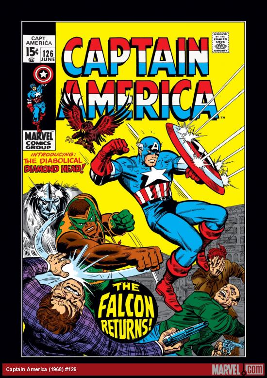 Captain America (1968) #126 Cover