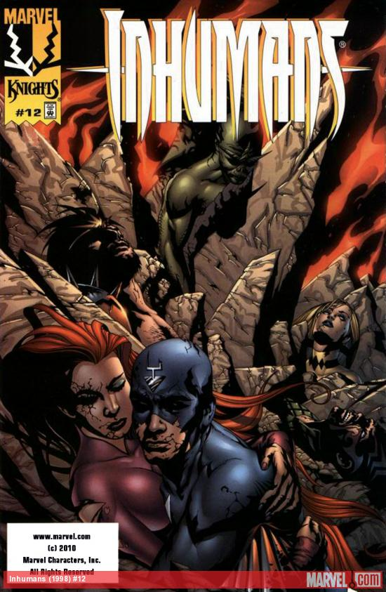 Inhumans (1998) #12 Cover
