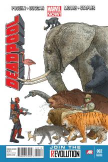 Deadpool (2012) #2 (2nd Printing Variant)