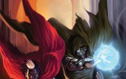Doctor Voodoo: Avenger of the Supernatural #5 cover by Marko Djurdjevic